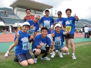 みんなで走ればフルマラソンも楽しくなります。来年は皆様も如何ですか?