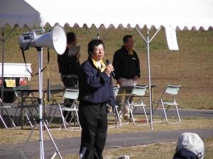 ▲社長 後藤による開会の挨拶