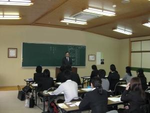 中江藤樹記念館元館長の中江彰様にご講演いただきました