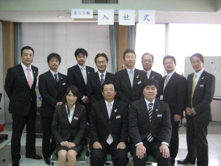 2012年4月1日(日) 第59期入社式 栗東本社