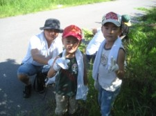 夏休みのため、子どもさんもたくさん来てくれました!