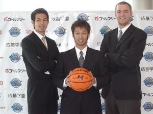 2008年10月11日(土)、滋賀県立体育館にて滋賀県初のプロスポーツチームがベールを脱ぎます。