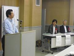 社長後藤の開会挨拶です