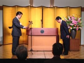 平成26年滋賀県社会福祉事業功労者当表彰式