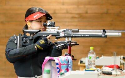 滋賀ダイハツの中口遥がライフル射撃で東京2020オリンピック内々定!